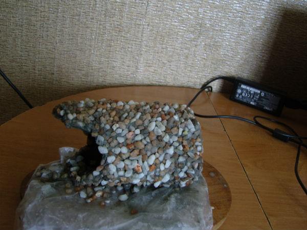 Галька для аквариума своими руками