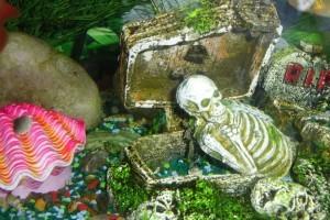 Декоры в аквариум своими руками фото 530