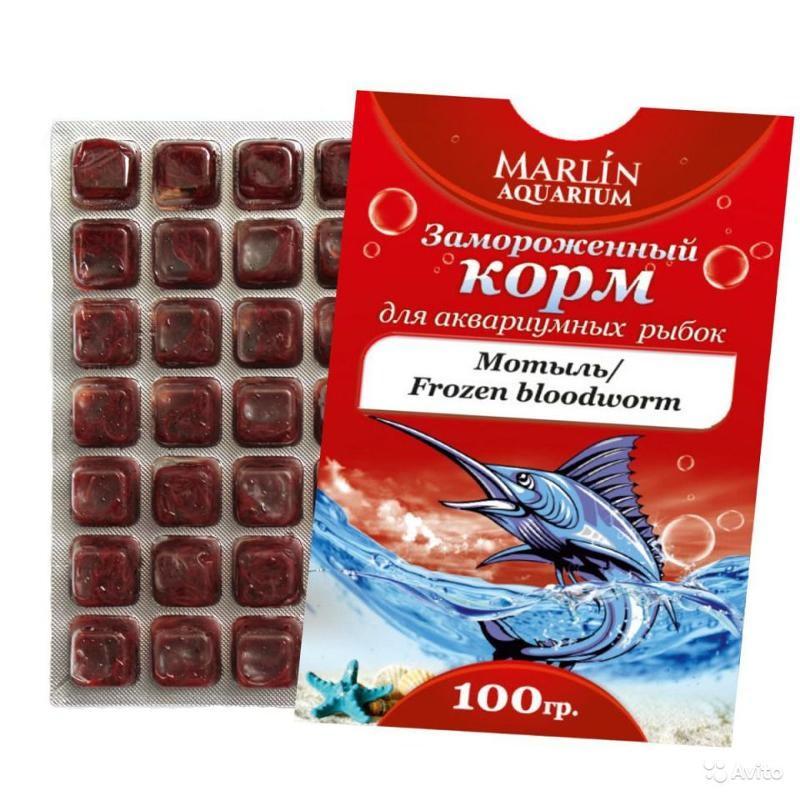 Замороженный корм для аквариумных рыбок купить