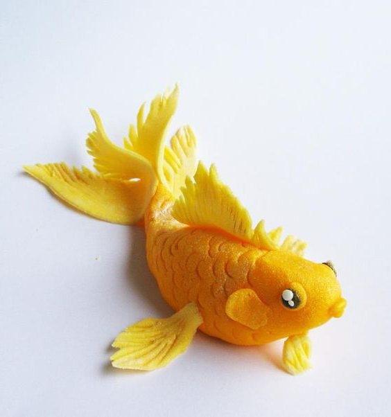 Рыбка в аквариуме: квиллинг дляей